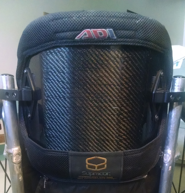 ADI Carbon Fiber Backrest - rear